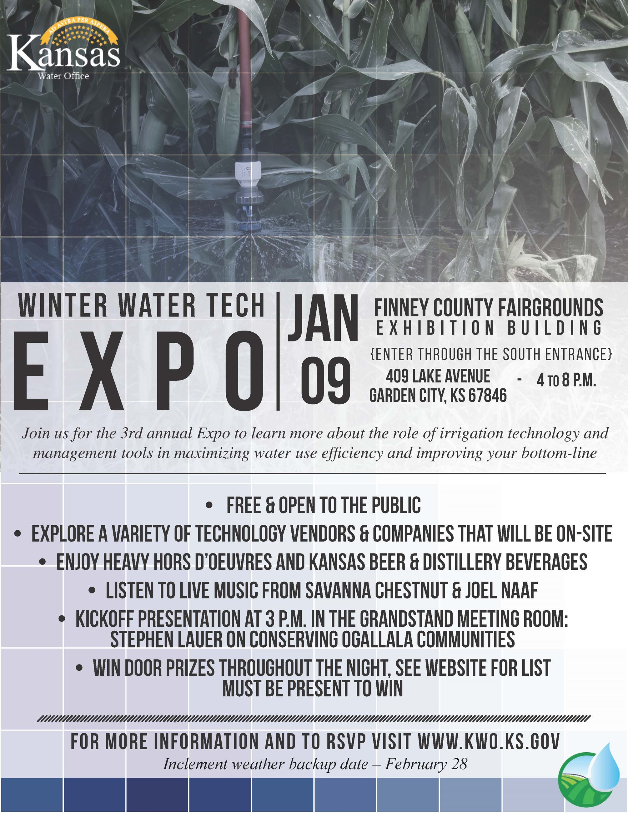 Water Tech Expo 2020 Flyer
