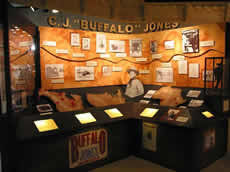 "C.J. ""Buffalo"" Jones Exhibit, Main Floor, Exhibit Hall"